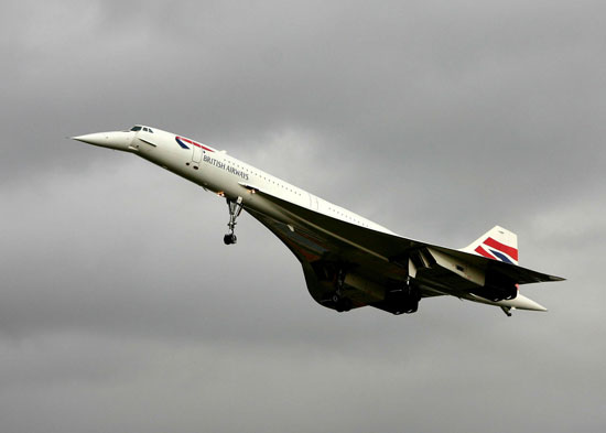 The Concorde. Graham Bloomfield / Shutterstock.com