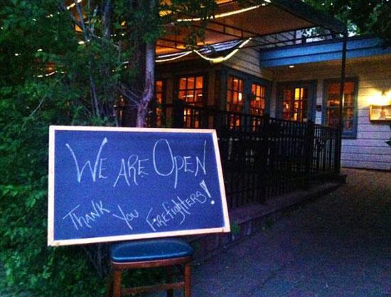 Local Restaurant. Source: Jessica Robinson/Northwest News Network